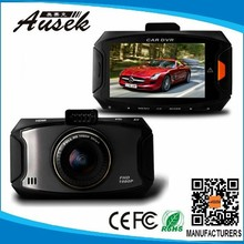 2.7inch g-sensor 1080p hd dvr car factory directly with ISO,WDR
