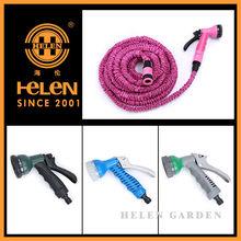 retractable water hose reel wire flexible hose Expandable Plastic quick coupling flexible hose