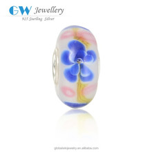 Alibaba Website China Wholesale High Quality 925 Sterling Silver Murano Glass Beads