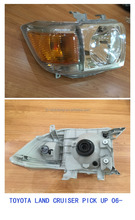land cruiser pickup hend lamp headlight for pick up 2006 japanese car spare parts