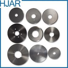 HSS round cutter blade for textile machine