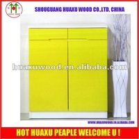 Furniture yellow chest of drawers