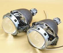 3.0inch Koito Hid Bi Xenon Projector Lens With Led Angel Eyes Ring Headlight Shroud car projector lens AUDI Q5