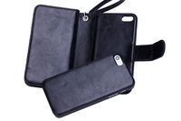 Unique design PU leather mobile phone waterproof phone case, cell phone holder with card slot