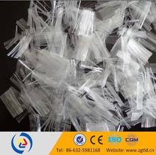 Polypropylene PP staple fiber/fibre/fibra
