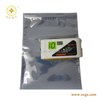 Flat open&zip lock style antistatic shielding bag/ESD antistatic bags