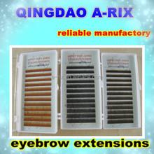 No.16 100% Individual Human Hair Eyebrow Extensions