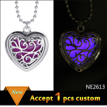 Fashion Vintage Metal Carved Hollow out opened pendant Choker Necklace,glowing jewelry