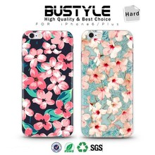 3D Cherry flowers case for Apple iPhone 5s 6 6plus with high quality ultrathin shell case