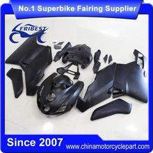FFKDU002 Motorcycle Fairing Kit For 749 999 2003 2004 Matt Black Gold Decals
