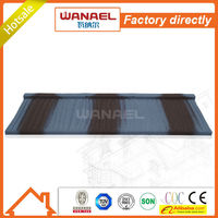 Shake Factory sale Wanael stone coated metal roof tile/best selling products/louver roof