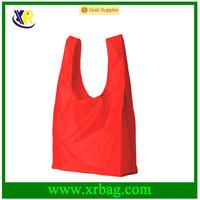 China Manufacturer Wholesale Custom Logo Print Recycled Folding Polyester Shopping Bag