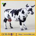 Personalizado decorativo pecuária estátua holstein vaca para venda
