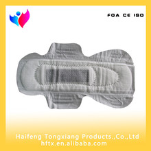 Active Oxygen and Far-IR Anion Sanitary Pad