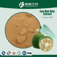 Natural Sweetener Luo Han Guo Extract 80% Mogrosides