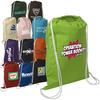 hot selling fashion custom design logo organic cotton drawstring bags for promotion gift