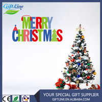 High Quality Christmas wall sticker/ Christmas Window Decals