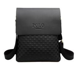 new commercial harvest male fashion bags 2015 Polo PU Leather Handbag Bag Purse briefcase on Shoulder Handbag