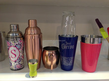 800ML (28oz) S/S Boston Shaker/Cocktail Shaker / Bar Boston With Glass Or Without Glass Cup