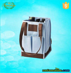 wholesale bottle wine tote bag/polyester wine bag