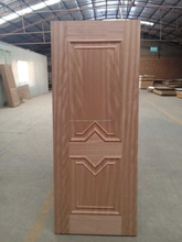 2015 de china de madera sencilla puerta exterior moderno de puertas