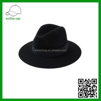 Korean high-grade printing letters woolen hat, British fashion jazz hat