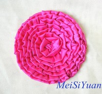 Guangzhou supplier large handmade decorative 3D flower for cushion cover
