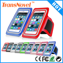 For iphone 6 sports armband, mobile phone sport armband case with key holder and headphone