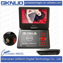 Branded car portable dvd player multi region