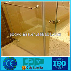Guangyao commercial buildings tempered glass shower door