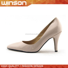 pointed toe high heel dress shoe for lady