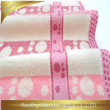 custom made cotton velour terry good quality Hot selling 100 cotton towel kg