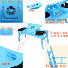 Best Folding laptop table with eliminate heat on lap or legs