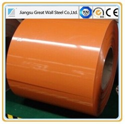 PPGI/color coated steel coil/pre painted g40 galvanized steel coil/Color Coated Corrugated House Roofing Sheet DX51D/ASTMA