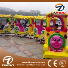Interesting shopping center lovely electric track amusement ride kids train for sale