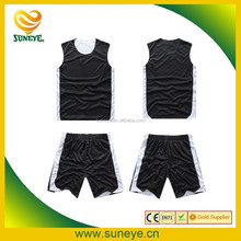 Sublimation Reversible Custom Basketball Jersey