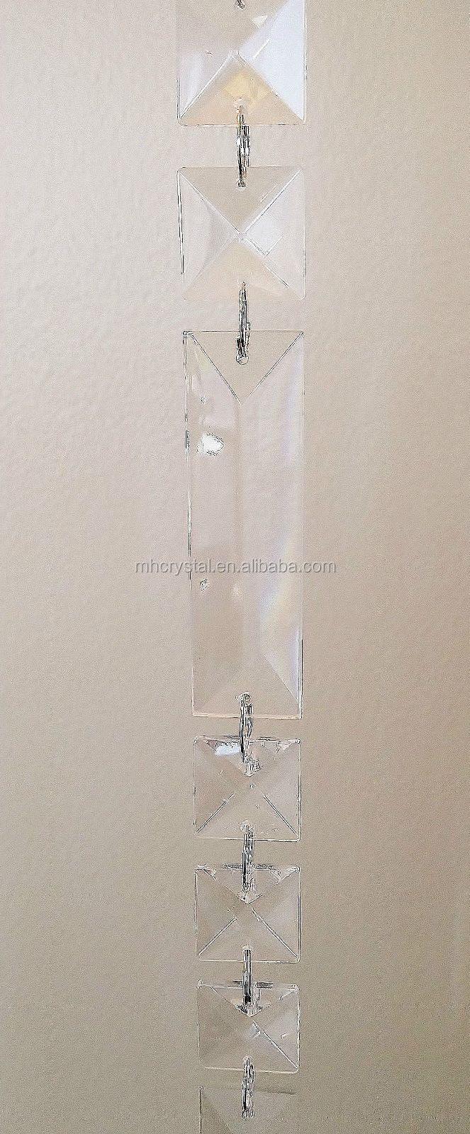 Kristal voor kroonluchter glazen deur raam decor kraal gordijn mh ...