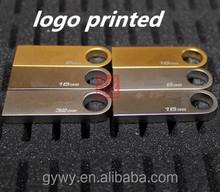 Car usb 16 gb mini cute metal creative personality usb custom lettering usb flash drive