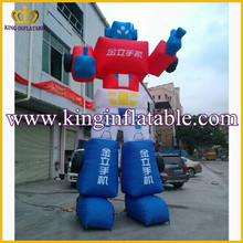 cheap inflatable cartoon chartacter advertising products ,super Robot inflatable cartoon