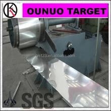 Vendita titanio iso9001 lamina di titanio Gr. 1 titanio costo al kg per uso attrezzature