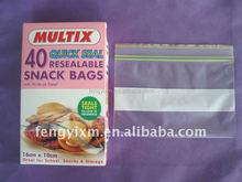 Custome printed ziplock bag