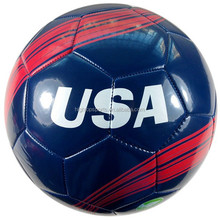 football factory/custom size 5 durable PVC machine stitching soccer ball