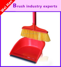 household broom and dustpan set,design broom and dustpan,printed dustpan and broom
