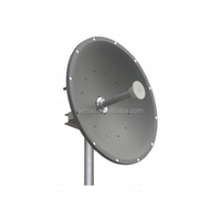 High frequency 28dBi MIMO Parabolic Dish Antenna 4900-5900MHz