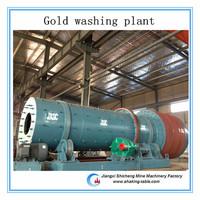 Feeding size 0-230mm capacity 10-180t/h diamond mining washing machinery