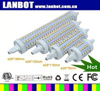 China manufacturer LANBOT supply 15W 12W 10W 5w r7s led lamp dimmable J78mm replace double ended halogen bulb