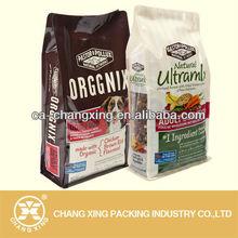 Plastic dog food bag/ heavy duty dog food bag/dog food bags with zipper