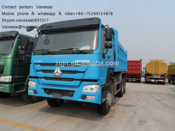 diesel used cars howo 371hp 30tons dump truckused cars for sale in south korea