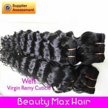 BeautymaxHair 5A Grade #2 Color Soft and Health French Curl Remi Hair Cambodia Export Products