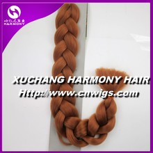 STOCK 82inch 165grams X-pression premium ultra braid hair, Synthetic jumbo braiding hair
